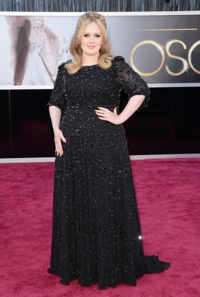 Adele Wore Jenny Packham