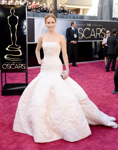 Jennifer Lawrence Wore Dior Haute Couture